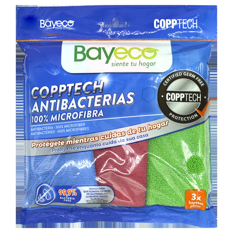 bayeco copptech pack bayetas hogar